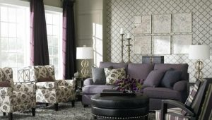Upholstered furniture for the living room: beautiful options in the interior