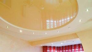 Plafonds tendus avec cloisons sèches: les subtilités des combinaisons