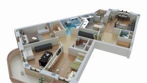 Caracteristici de planificare a apartamentelor de diferite dimensiuni