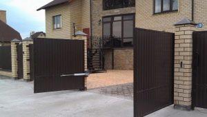 Caractéristiques des portes battantes électriques