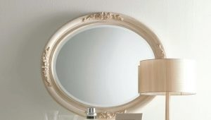 Oval mirror: beautiful examples of use in interior design