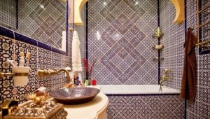 Moroccan style tiles: Oriental notes in the interior