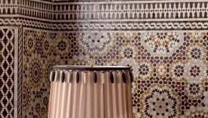 Tile in the oriental style: beautiful ideas for the interior