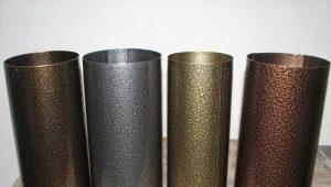 Peinture en poudre sur métal: caractéristiques et propriétés