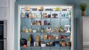 Salle de stockage: caractéristiques et variétés