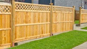 Types de panneaux de clôture: caractéristiques et caractéristiques