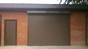 Rulla fönsterluckor i garaget: fördelarna och nackdelarna