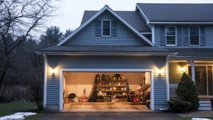 Choisir un rideau à la porte du garage