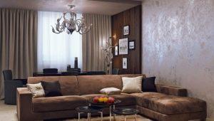 Dekorativt gips: vackra alternativ för väggdekoration i inredningen