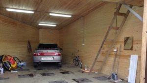 Faire de l'éclairage dans le garage: tous les détails du processus