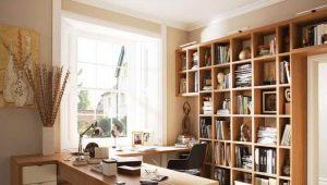 Cabinet design: idées pour organiser l'espace de travail à la maison