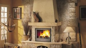 Wood fireplaces: types and styles