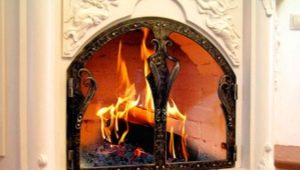 Fireplace doors: selection and installation