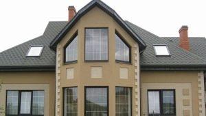 Fasad dekorativa gips: typer och egenskaper