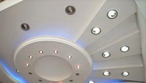 Plafond figuré en design d'intérieur