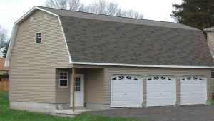 Garage with attic: options for planning