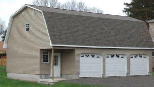 Garage avec grenier: options pour la planification