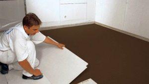 GVL för Knauf-golv: egenskaper och teknik för tillämpning
