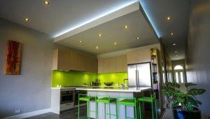 Comment faire un plafond de cloison sèche avec éclairage?