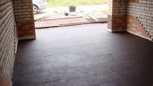 How to pour concrete floor in the garage?