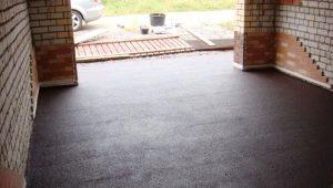 Comment couler le sol en béton dans le garage?