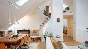 Appartement met zolder: de voor- en nadelen