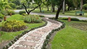 تصميم المسار: أمثلة جميلة من تصميم المناظر الطبيعية