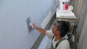Features of the plaster mixture for exterior works