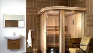 De stoomcabine in het appartement: hoe doe je dat zelf?
