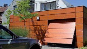 Levage des portes de garage: les détails du mécanisme et de la fabrication