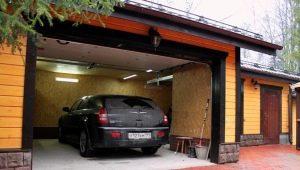 La taille du garage pour une voiture: les paramètres optimaux de la salle