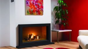 Sizes of electric fireplaces: standards and unique options