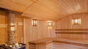 We build a sauna in the house with our own hands