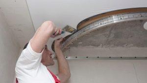 Subtilités de l'installation d'un plafond tendu à deux niveaux