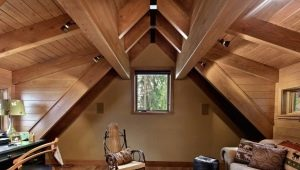 What style to decorate the attic?