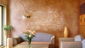 Venetian plaster: its features and scope