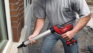 Pistolet à mastic pour batterie: Conseils pour choisir