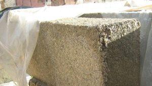 Cemento e blocchi di segatura