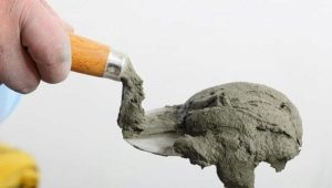 Cement-lime mortar: proportions and characteristics of brands
