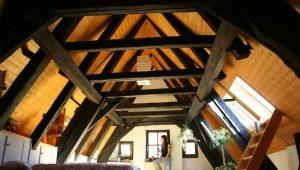Attic floor design: interesting interior options