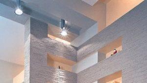 Conception de murs en plaques de plâtre: options pour les appartements et pour une maison de campagne