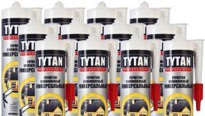 Mastics Tytan Professional: types, caractéristiques