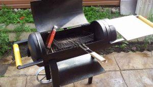 Hur man gör en grill från en gascylinder?