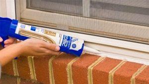 Comment choisir un scellant pour fenêtres?