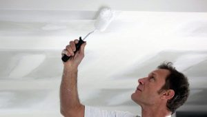 What kind of paint for the ceiling in the apartment is better?