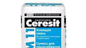 Ceresit CM 11 glue: properties and application