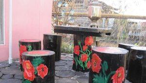 Dacha möbler gör-det-själv: Vad kan man göra av skrotmaterial?