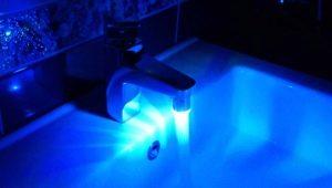 Utnämning och egenskaper hos LED-munstycken på kranen