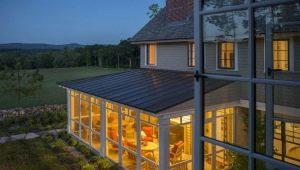 Vitrage des vérandas et des terrasses: caractéristiques et options de conception