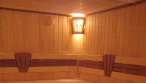 Sauna decoration: design ideas